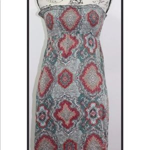 Mossimo Supply Co strapless summer dress